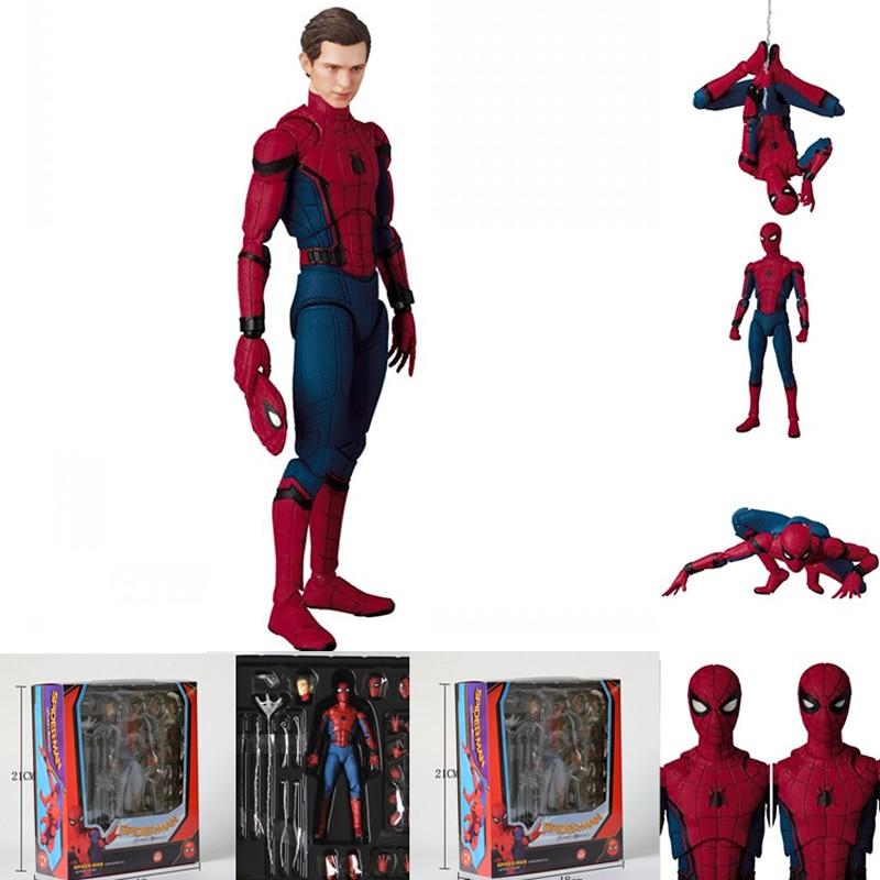 The Marvel Legends MAF047 Spiderman Super Hero The Amazing Spider Man PVC Action Figure 15cm 6 amazing spider man worldwide vol 6