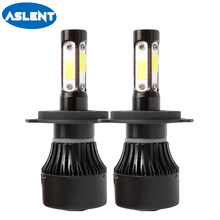 Aslent H4 Hi lo Beam H7 H11 H8 H9 LED Car LED Headlight Bulbs 9005 9006 100W 12000lm Auto Led Headlamp Fog Lamp Car Light 12v(China)