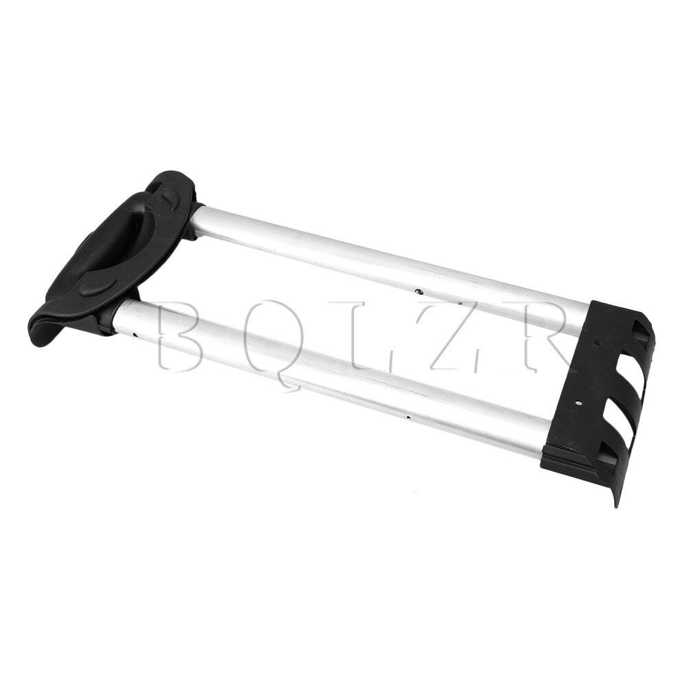 BQLZR R001 Plastic Travel Luggage Telescopic Handle 20 inch Replacement Spare Parts Suitcase Aluminium Alloy Rod