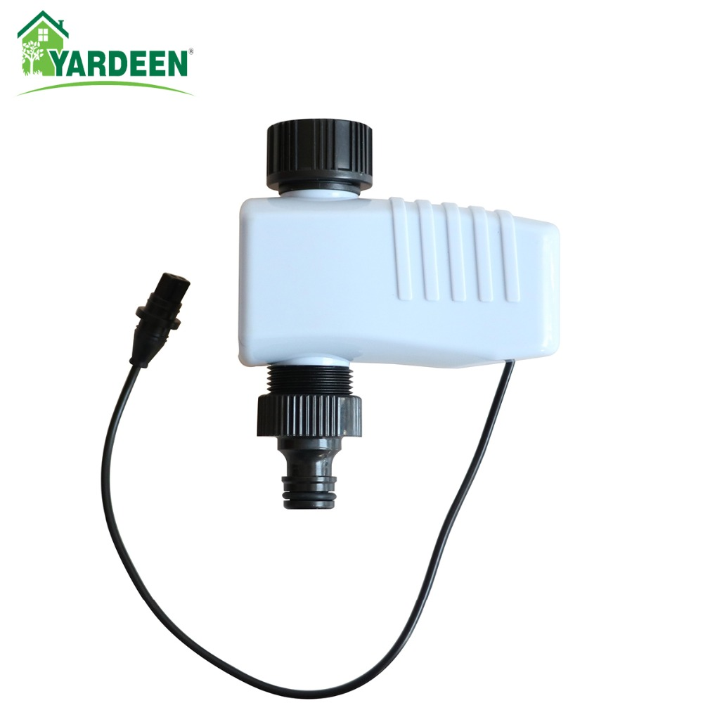 Garden Automatic Solenoid Valve Watering Timer Connected to Garden Controller System