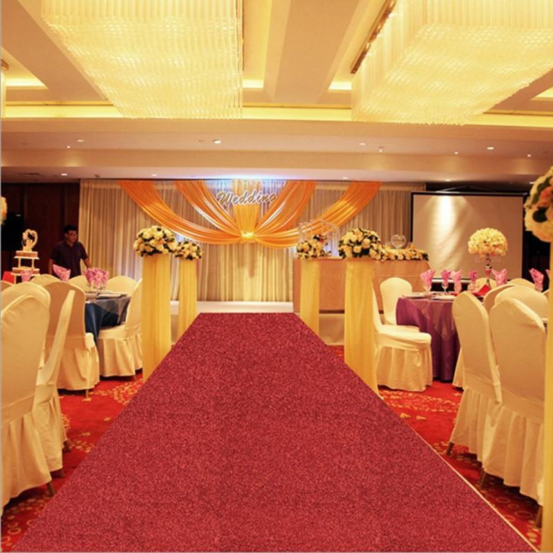 Wedding Party Glitter Carpets Decoration Marriage Shiny