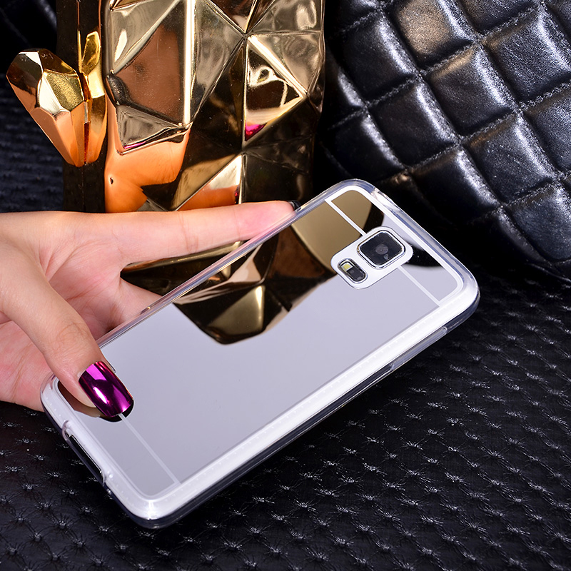 New Mirror Soft Back Cover Case For Samsung Galaxy S3 S4 S5 S6 S7 Edge S8 Plus Note 3 4 5 J1 J2 J3 J5 J7 Prime A3 A5 2017 2016