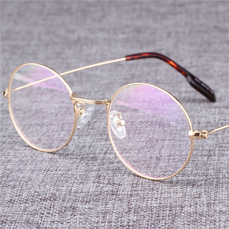 Vazrobe Round Glasses Men Women Customize 1.56 1.61 1.67 Index Anti Blue Light Photochromic Progressive Lens Vintage Nerd Points