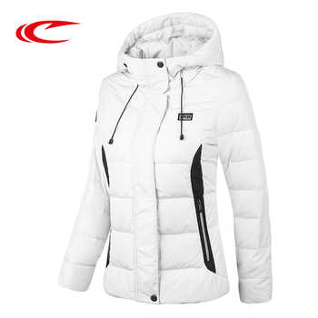 SAIQI 2018 Women Autumn Jacket New Warm Caping Hiking Jacket Coat 80% Grey Duck Female Down Jackets Winter Outwear Coat 256814 - DISCOUNT ITEM  0% OFF All Category