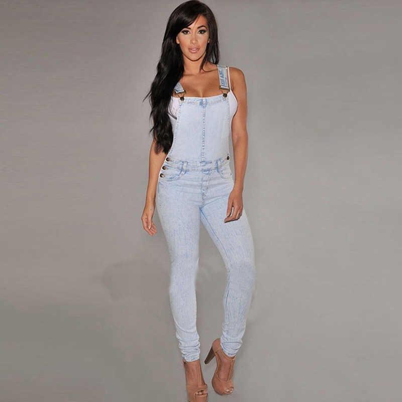 2017 модные сексуальные женские джинсовые штаны комбинезон джинсовый комбинезон обтягивающий тонкий повседневный комбинезон брюки боди feminino женский комбинезон