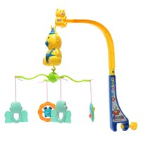 ZB777 14 Melodies Song Baby Mobile Crib Bed Bell Kid Toy Electric Music Box Love Soft