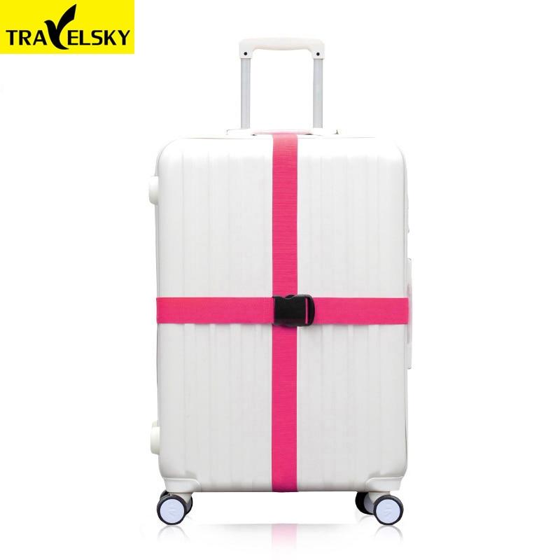 Tali bagasi perjalanan, Disesuaikan nilon yang kuat lintas sabuk - Aksesori perjalanan - Foto 4