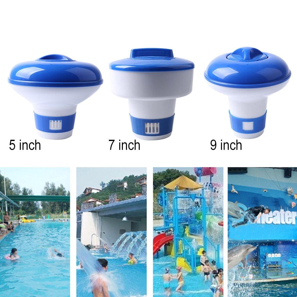 5/7/9 Inch Pool Spa Chemical Floater Tablet Chlorine Dispenser Cleaner Tablets Tabs---LB55