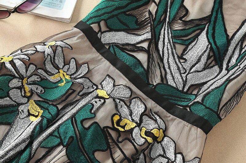 Gaine Broderie Longue Robe Dentelle Ziwwshaoyu Dames De Floral Designer Courroie D'été Multi Noir Vintage Maxi wRSvU