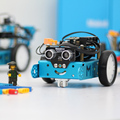 Makeblock mBot Синий (Bluetooth Версия) нуля 2.0 и MBot Провел Расширение Версия V1.1 Arduino Робот DIY Автомобильный Комплект Детские Игрушки робот