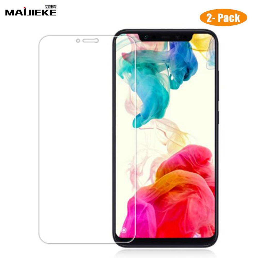 Display screen Protector For Xiaomi Pocophone F1 Tempered Glass For Xiaomi Redmi Be aware 5 Plus 6A 5A 4X S2 Mi A2 Lite Mi eight Tempered Glass