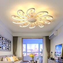 Post Modern Led Ceiling Lights Bedroom Living Room Rose Gold Aluminum Surface Mounted Lustre Luminaria Lamps Led Ceiling Lights
