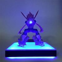 Dragon Ball Z Vegeta DIY Night Lamp Super Saiyan DBZ Vegeta Figurine LED Table Lamp for Children Bedroom Home Decoration MY2