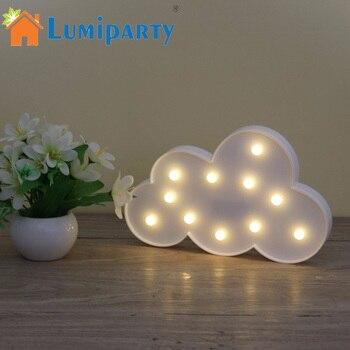 Lampe 3D Chapiteau lampe 3D forme Nuage lampe pour chambre Enfant