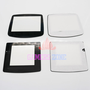 Plastic Glass Lens for GBC GBA Screen Glass Lens for Gameboy Advance Color Lens Protector W/ Adhensive(China)