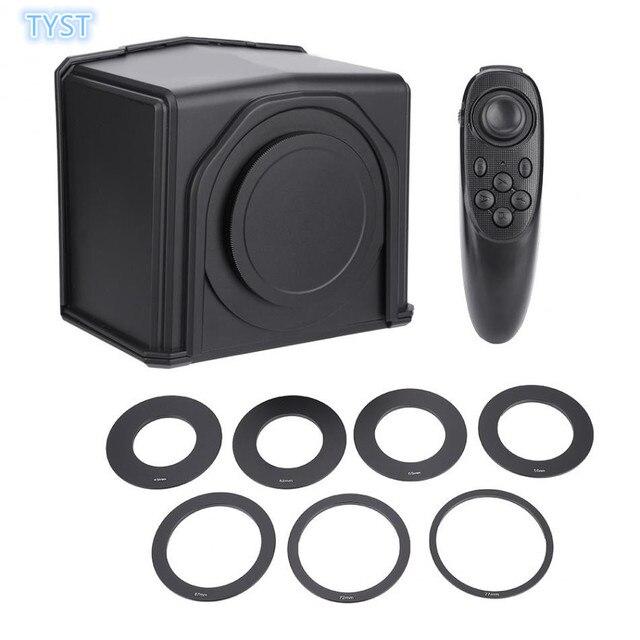 Điện thoại thông minh Teleprompter cho Canon Nikon Sony Camera Studio Ảnh DSLR cho Youtube Cuộc Phỏng Vấn Teleprompter Video Camera