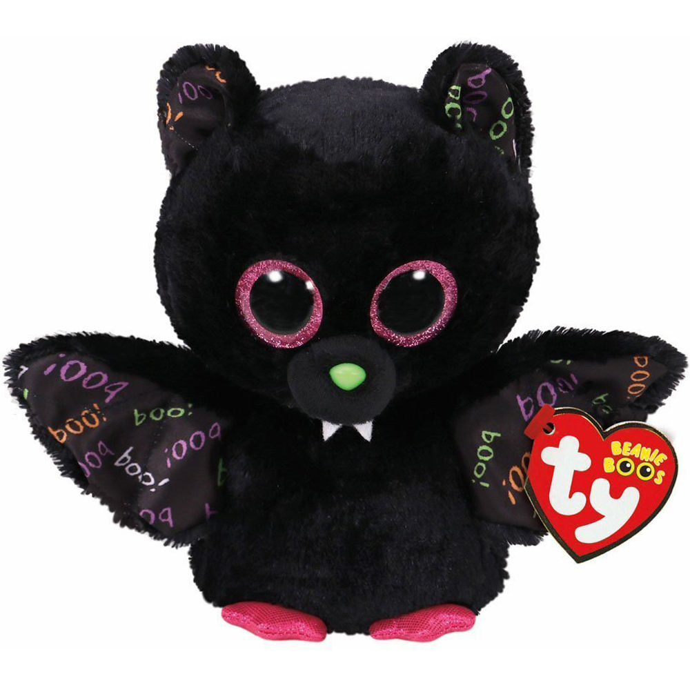 2019 Pyoopeo Ty Beanie Boos 6 15cm 2017 Halloween Collection Creeper ... 921f4d7034a0