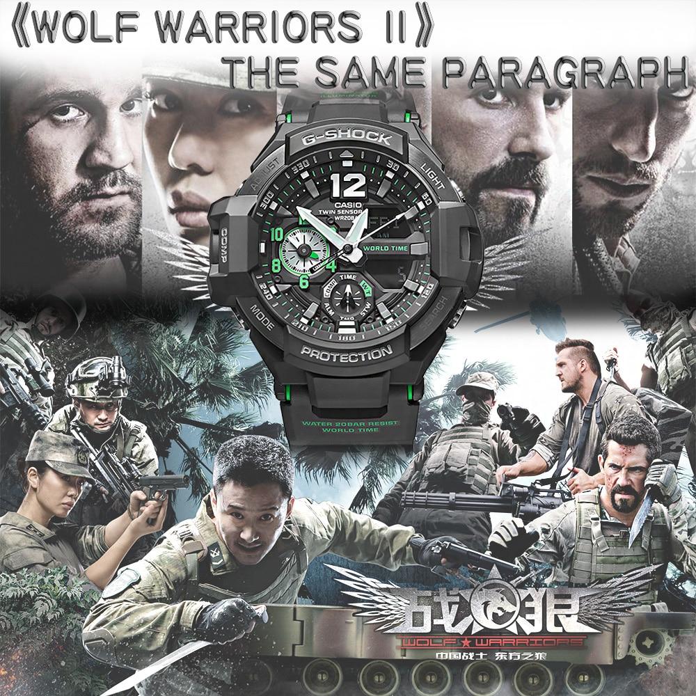 Casio watch Casual sports multi-functional waterproof men's fashion watch GA-1100-1A GA-1100-1A3 GA-1100-2A GA-1100GB-1A