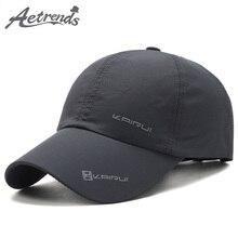 [AETRENDS] Summer Cap Men Baseball with Mesh Hat Sport Mens Hats and Caps Branded Masculine Bones Trucker Bone Z-6471
