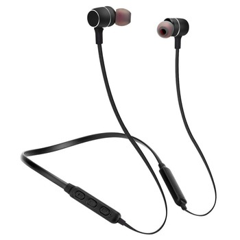 BTH-S8 Magnetic Wireless Bluetooth Earphone Sport Headphone Stereo Bass Noise Cancelling Headset with Mic for iPhone Xiaomi