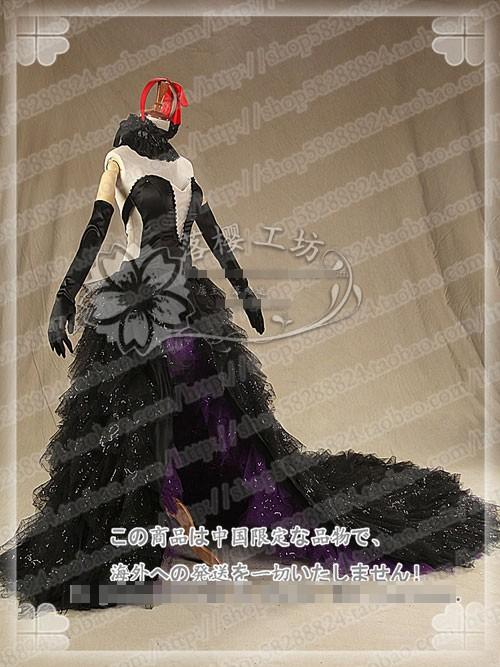 Puella-Magi-Madoka-Magica-Akemi-Homura-Devil-Black-Halloween-Uniforms-Customized-Cosplay-Party-Dress-Free-Shipping