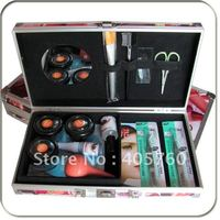 Professional Hight Quality False Eyelash Eye Lash Extension Glue Kit Full Set With Case Eye Beauty Tool Free Shipping