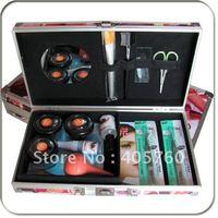 Professional Hight Quality False Eyelash Eye Lash Extension Glue Kit Full Set With Case Eye Beauty Tool Free Shipping