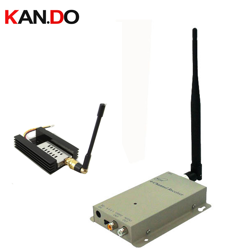 700Mw 1.2G Wireless AV transceiver for cctv 1.2G Video Audio DRONE Transmitter Receiver,CCTV camera wireless FPV transmitter цены в интернет-магазинах