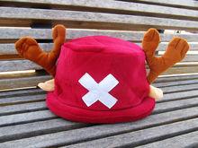 Бесплатная доставка цельный тони тони чоппер косплей кепка плюшевые шляпа версии 1