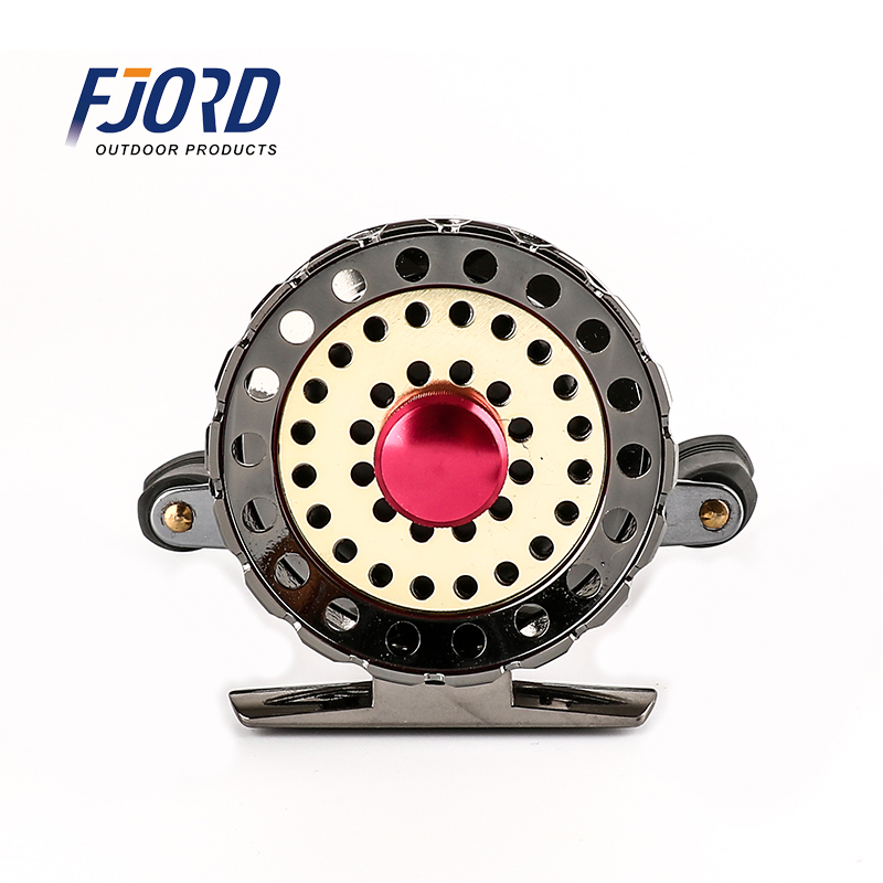 Ball Bearing Metal diecast 7BB Fly Fish Reel Former Rafting Fish Reel Ice Fishing Wheel Left/Right Changeable Raft Ratio Valve