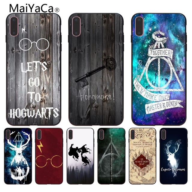 MaiYaCa Harry Potter Wallpaper New High Quality Luxury Phone Case For IPhone 6S 6plus 7 7plus