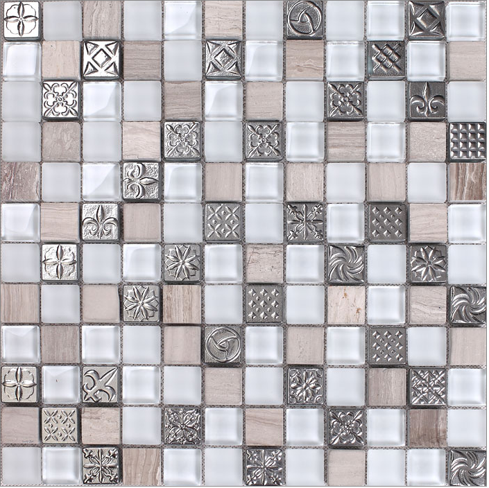 White grey glass marble mosaic tiles,Marble stone tiles,Livingroom,Bathroom wall decoratioin,Kitchen backsplash,LSTC026 ocean blue pearl shell mosaic tile gray natural marble kitchen backsplash sea shell tiles subway glass conch wall tiles lsbk53