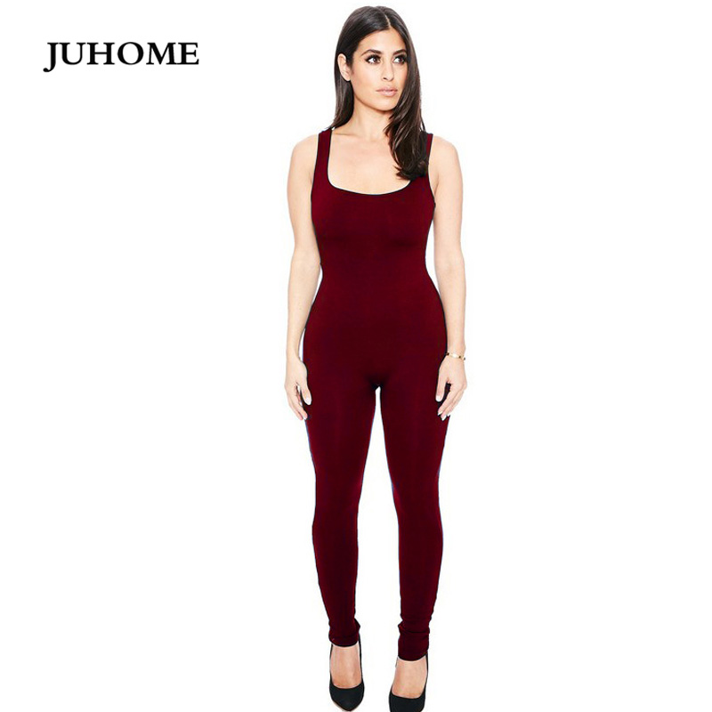 2017 Summer Fashion Rompers Womens Jumpsuit Sexy Ladies Casual Elegant Off Shoulder Sleeveless Long Trousers Camisol Jumpsuit