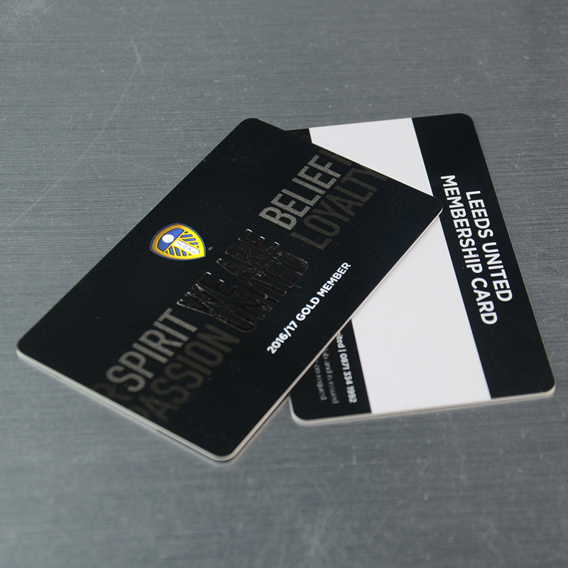 Customized printing gold stamping plastic loyalty membership cards 2 reheart Choice Image