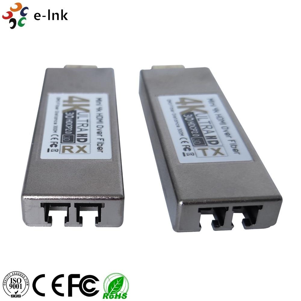 Wzmacniacz światłowodowy Mini 4Kx2K HDMI z optycznym transceiverem - Sprzęt komunikacyjny - Zdjęcie 3