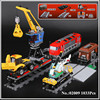 Lepin 02009 Genuine 1033Pcs City Series The Heavy Haul Train Set 60098 Building Blocks Bricks Educational