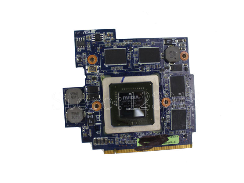 ФОТО Original Laptop Graphics Card For Asus G71GX G72GX 1GB DDR3 Video Card NVIDIA 8 video-memory G92-751-B1 100% tested & work