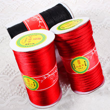 No. 2 red line 3 special coarse jade line 4, Chinese knot wire 5 Taiwan line 3mm ultra coarse braided red rope 7mm(China)