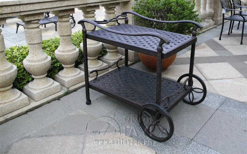 cast aluminum dining car restaurant car diner outdoor furniture patio furniture garden furniture dining furniture