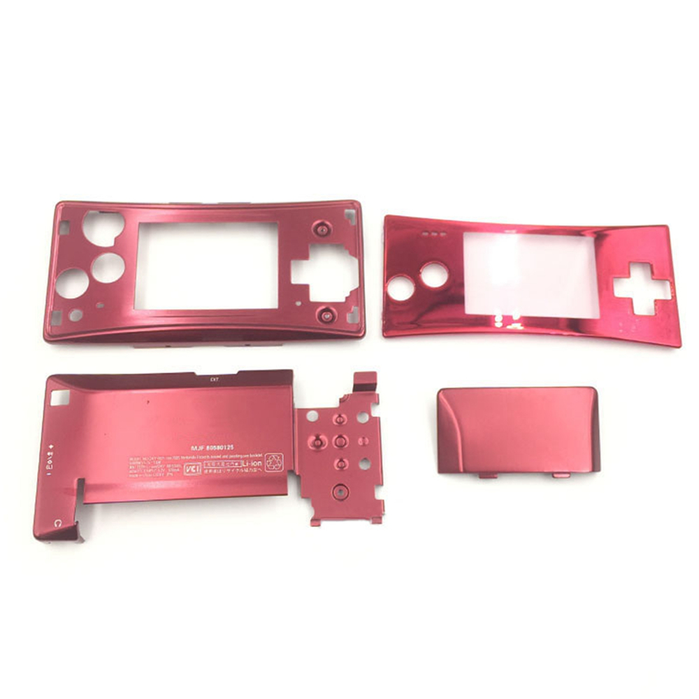 Housing Shell Case Set for Nintend Game B Micro GameBM Aluminum Replacement Protective Shell Case for GameBM Game Console