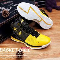 Новые Высокие баскетбольные кроссовки мужские Мальчики Размер 36-45 Аутентичные баскетбольные кроссовки кожаные черные синие баскетбольные...