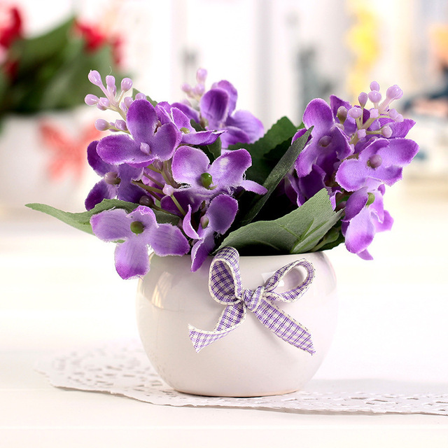 Flores artificial flowers lilac artificial silk flowers wedding flores artificial flowers lilac artificial silk flowers wedding flowers decor party cheap artificial flower table decoration mightylinksfo