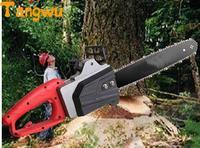 Alto potere libero di trasporto a catena sega elettrica. chain saw lavorazione del legno elettrica domestica taglialegna