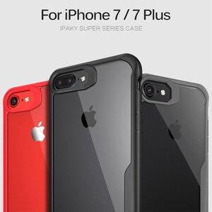 Image 3 - Heyytle 耐衝撃 Iphone 7 8 プラス 6 6s 透明カバー X XS 最大 XR ソフト TPU ケースドロッププルーフ Coque