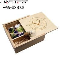 JASTER 1PCS free LOGO Album bottle USB flash drive pendrive 4GB 8GB 16GB 32GB 64GB customer LOGO wedding gift 180*180*55mm