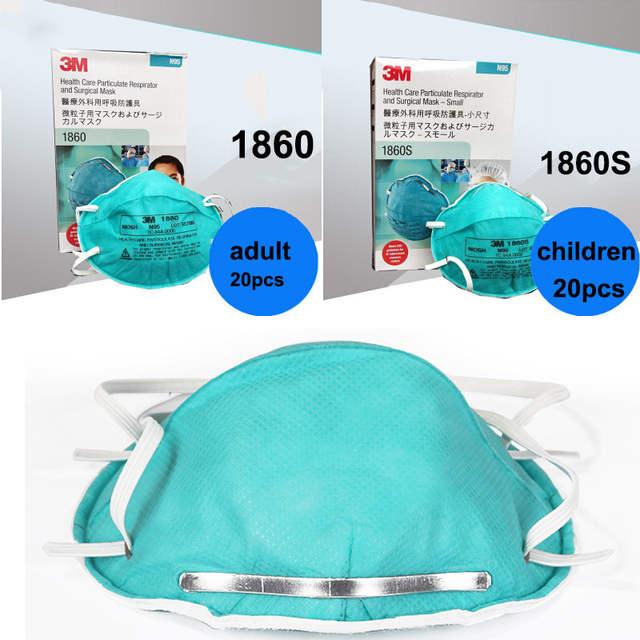 Children Mask For Adult 3m Dust Virus 1860 1860s N95 Anti