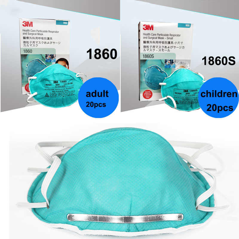 Children Care Anti-virus 1860s Breathing Adult 1860 3m Mask Respirator Dust Health Particulate Safety Dustproof N95 Masks For
