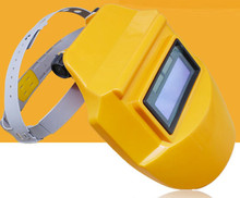 Head – mounted labor protection security solar automatic variable light welding face mask helmet