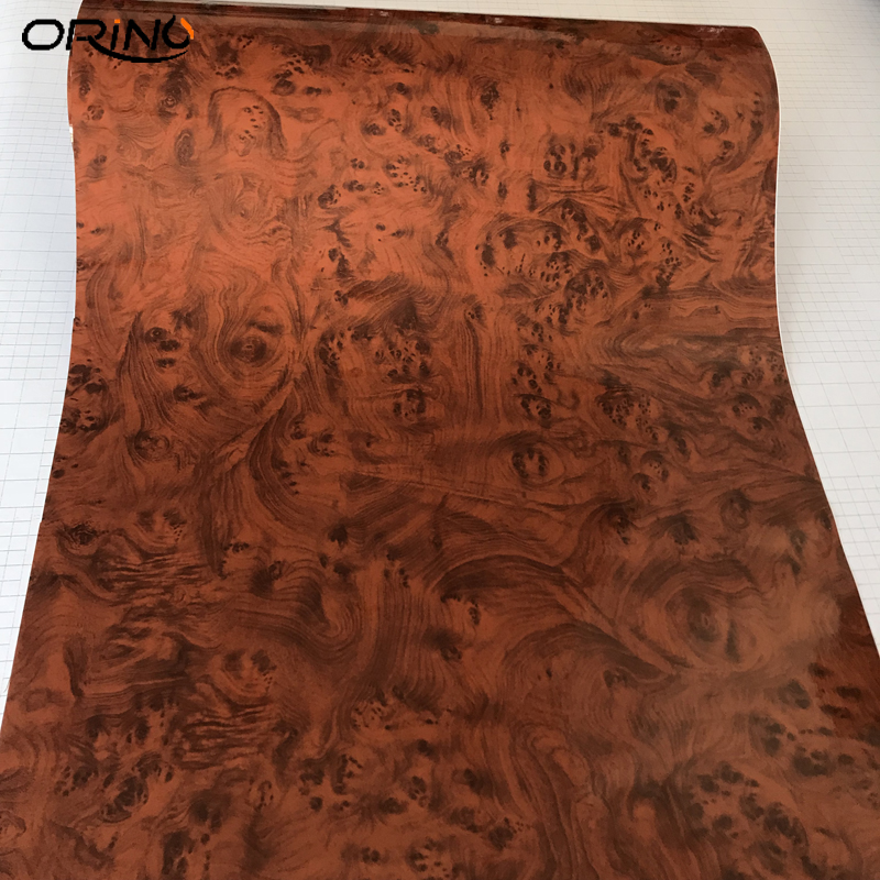 Image 5 - High Glossy Wood Grain Car Interior DIY Vinyl Sticker Decal Wrap Film Size 10/20/30/40/50CMX152CM-in Car Stickers from Automobiles & Motorcycles