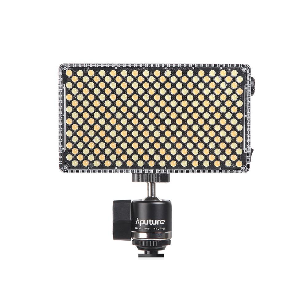 Aputure Amaran AL-F7 CRI/TLCI 95+ Color Temperature 3200-9500K Led Panel Most Versatile LED Video light for DSLR DV cameras aputure ls c300d cri 95 tlci 96 48000 lux 0 5m color temperature 5500k for filmmakers 2 4g remote aputure light dome mini